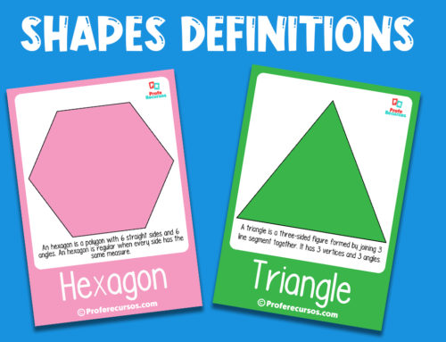 Shapes flashcards with definitions
