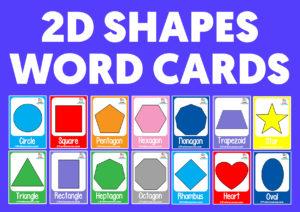 2d shapes for kids