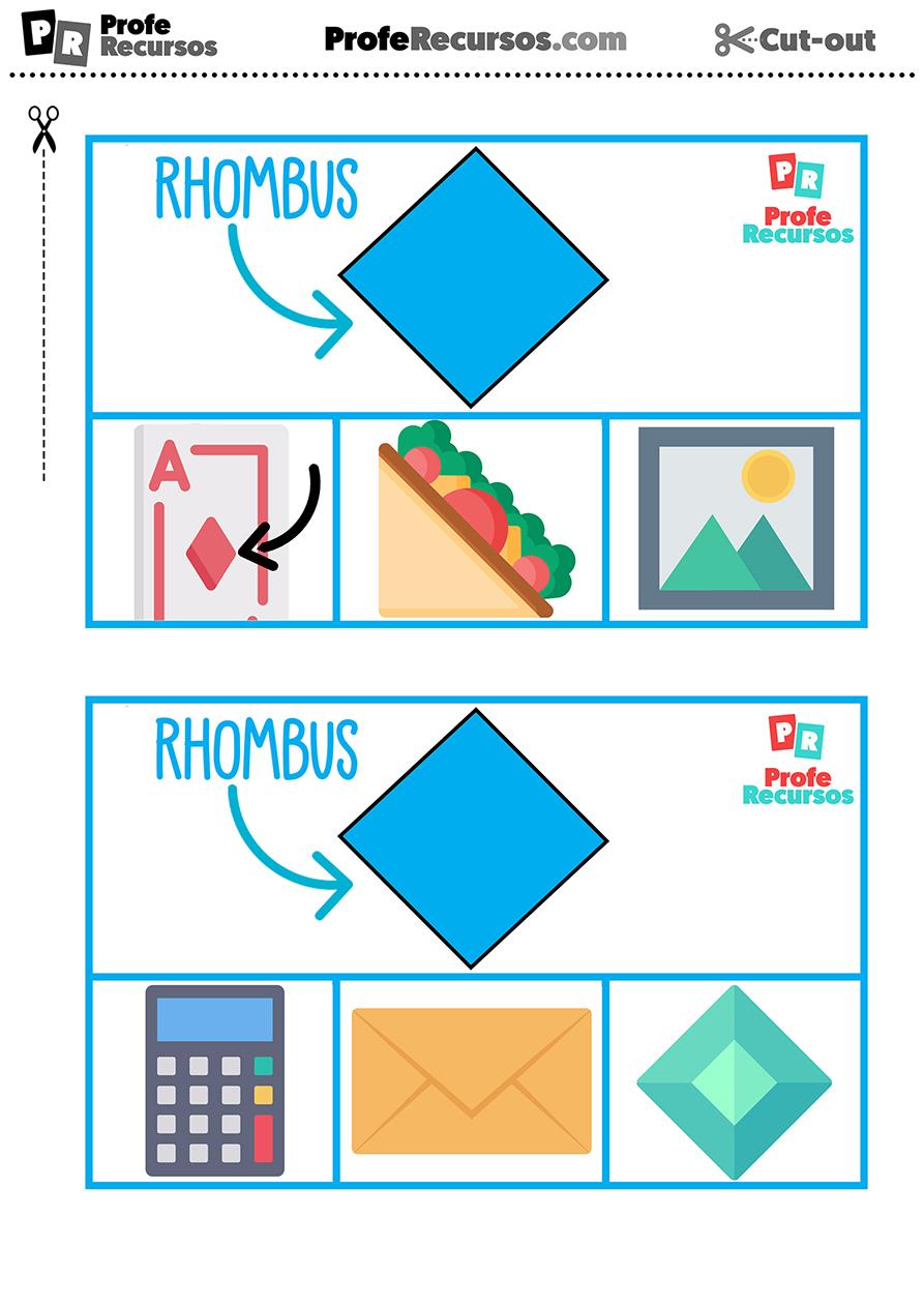Actividad para aprender las formas en ingles