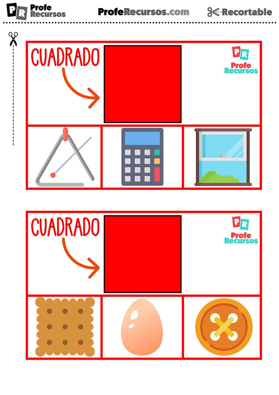 Actividades con formas geometricas para niños