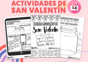 Actividades de san valentin para niños