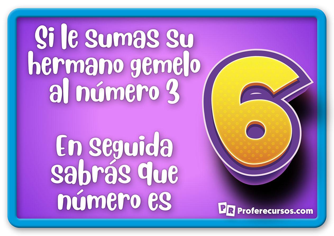 Adivinanza del numero 6