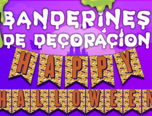 Banderines de Happy Halloween