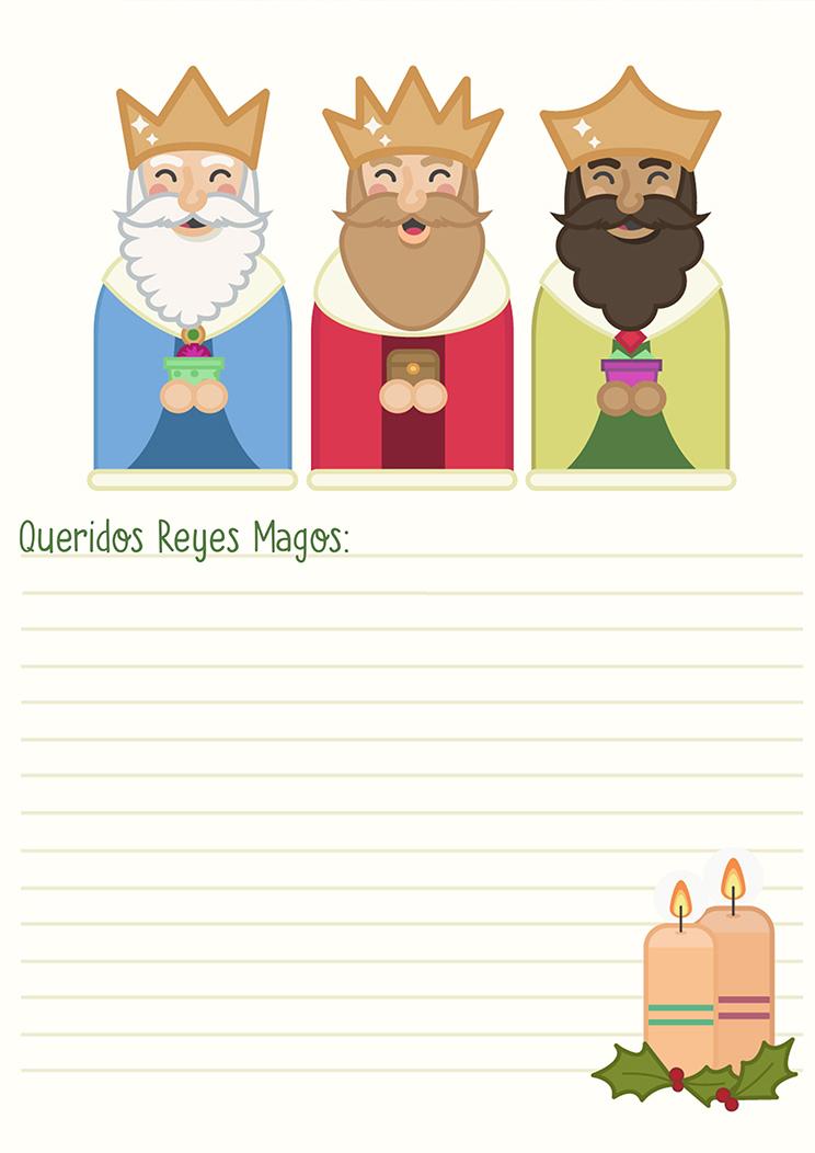 Carta de reyes magos