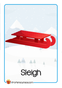Christmas-Flashcards-Sleigh