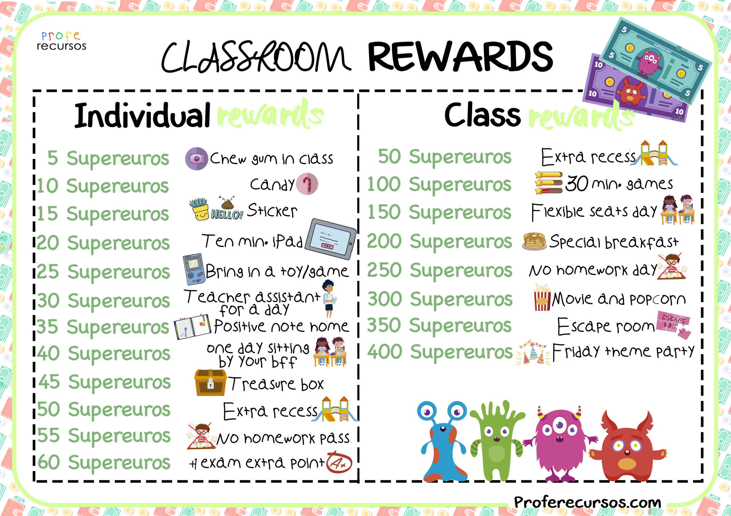 Classroom-rewards-poster