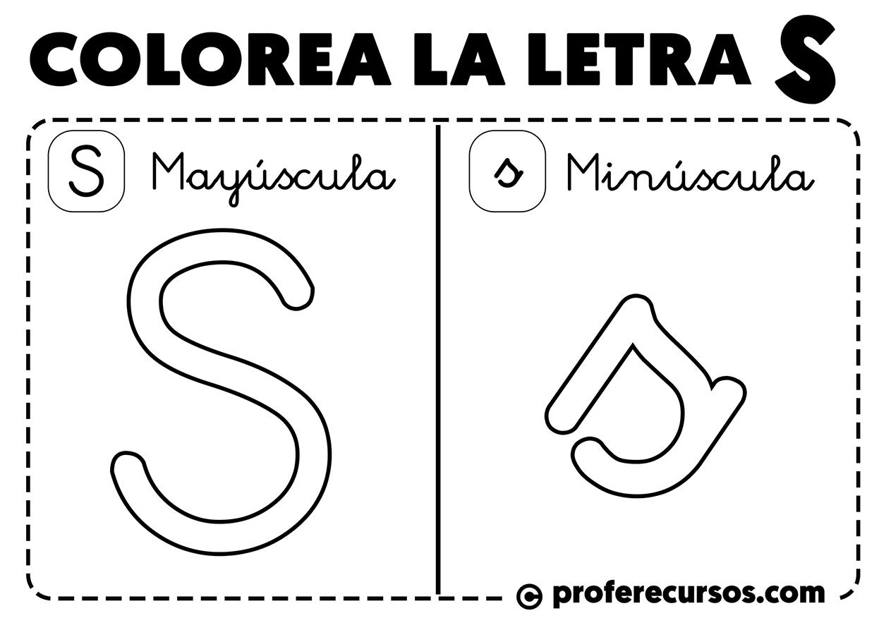 Letras Del Abecedario Para Colorear Mayúsculas Y Minúsculas