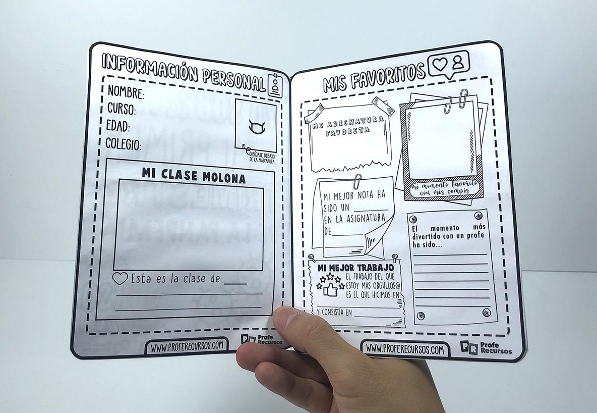 Como hacer un cuadernillo para niños