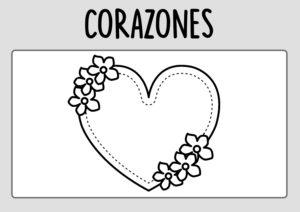 Dibujo-Corazones-Colorear