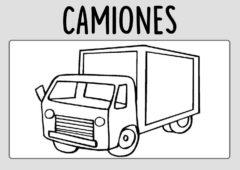 Dibujos-Camiones-Colorear