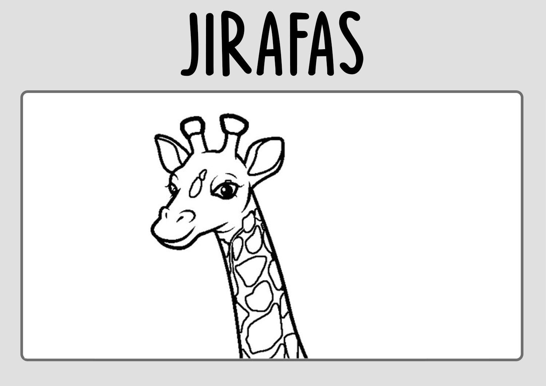 Dibujos-jirafas