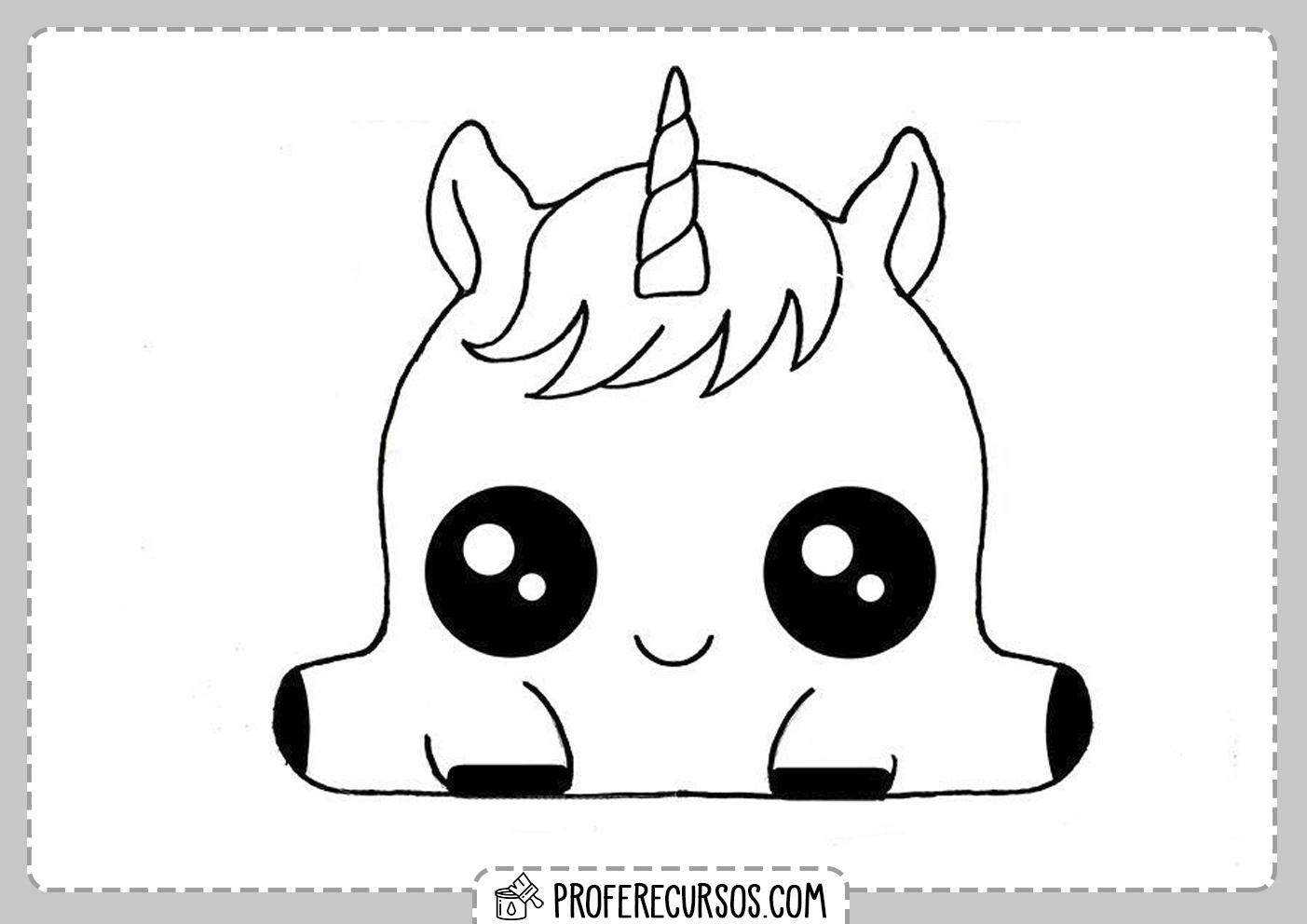 Dibujos Kawaii Unicornio