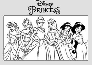 Dibujos-Princesas-Disney