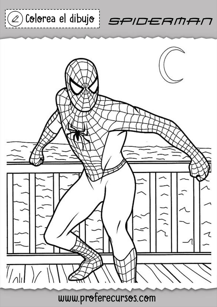 Dibujos Superheores Spiderman