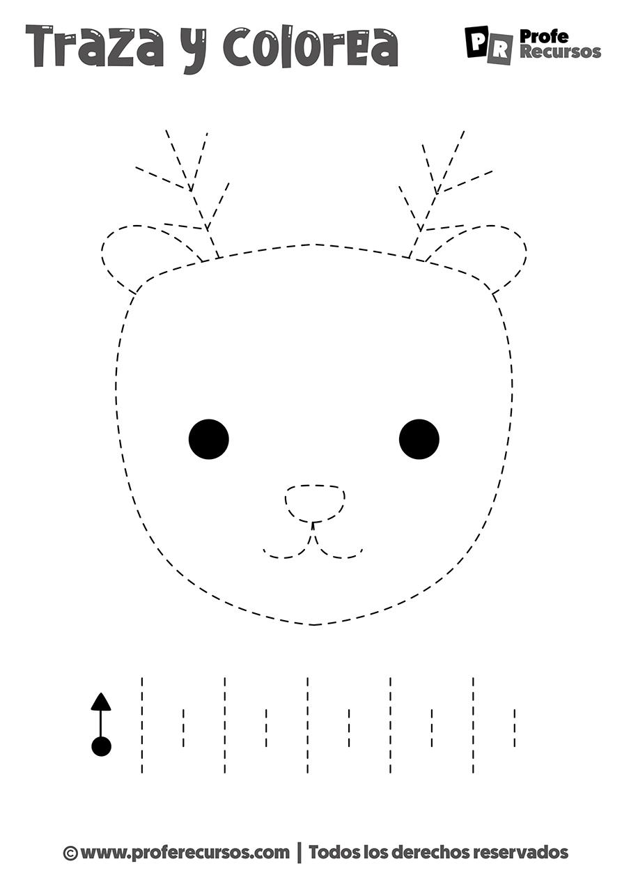 Dibujos de grafomotricidad