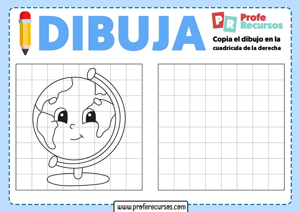 Dibujos en cuadrícula fáciles