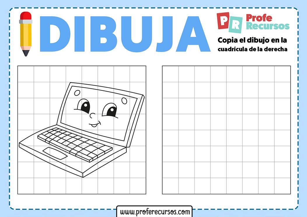 Dibujos en cuadrícula para niños