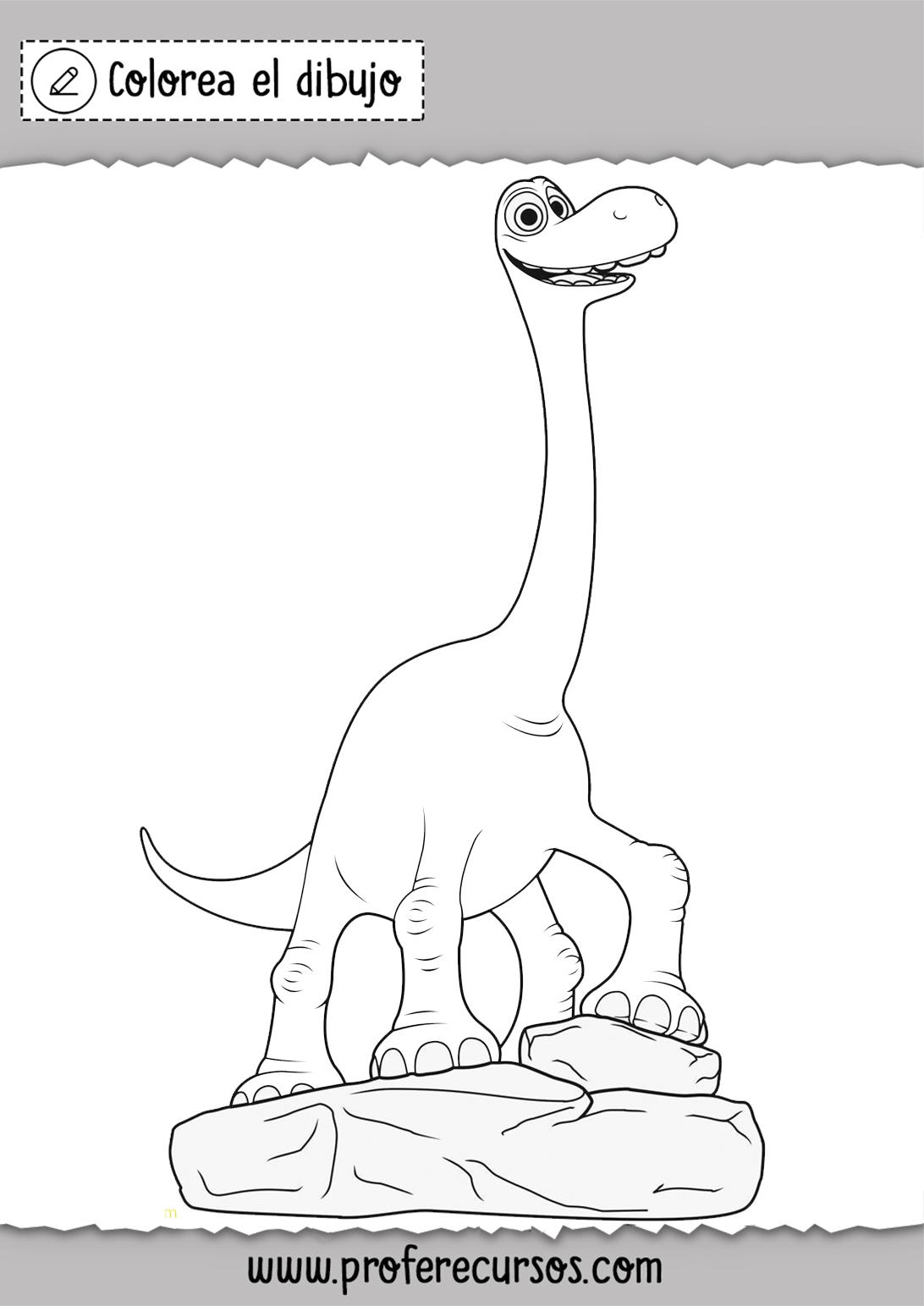 Dinosaurios Colorear Dibujos