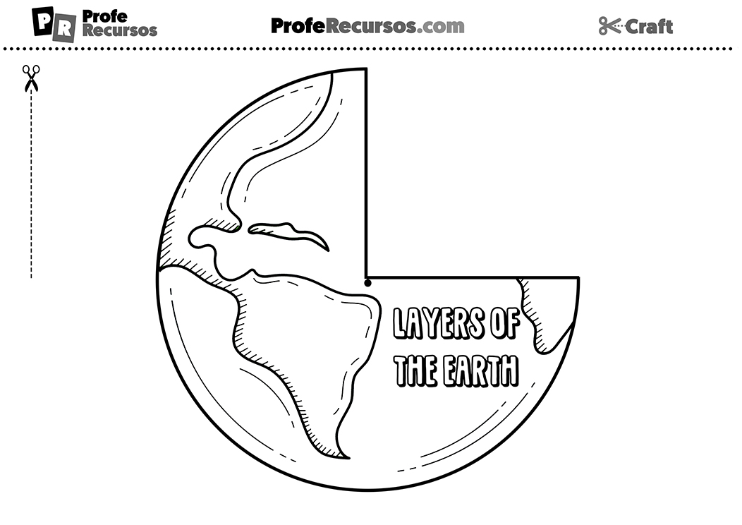 Earth layers activity