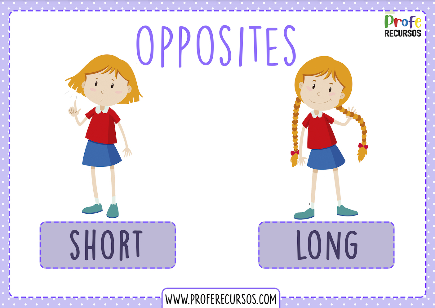 English opposites actions