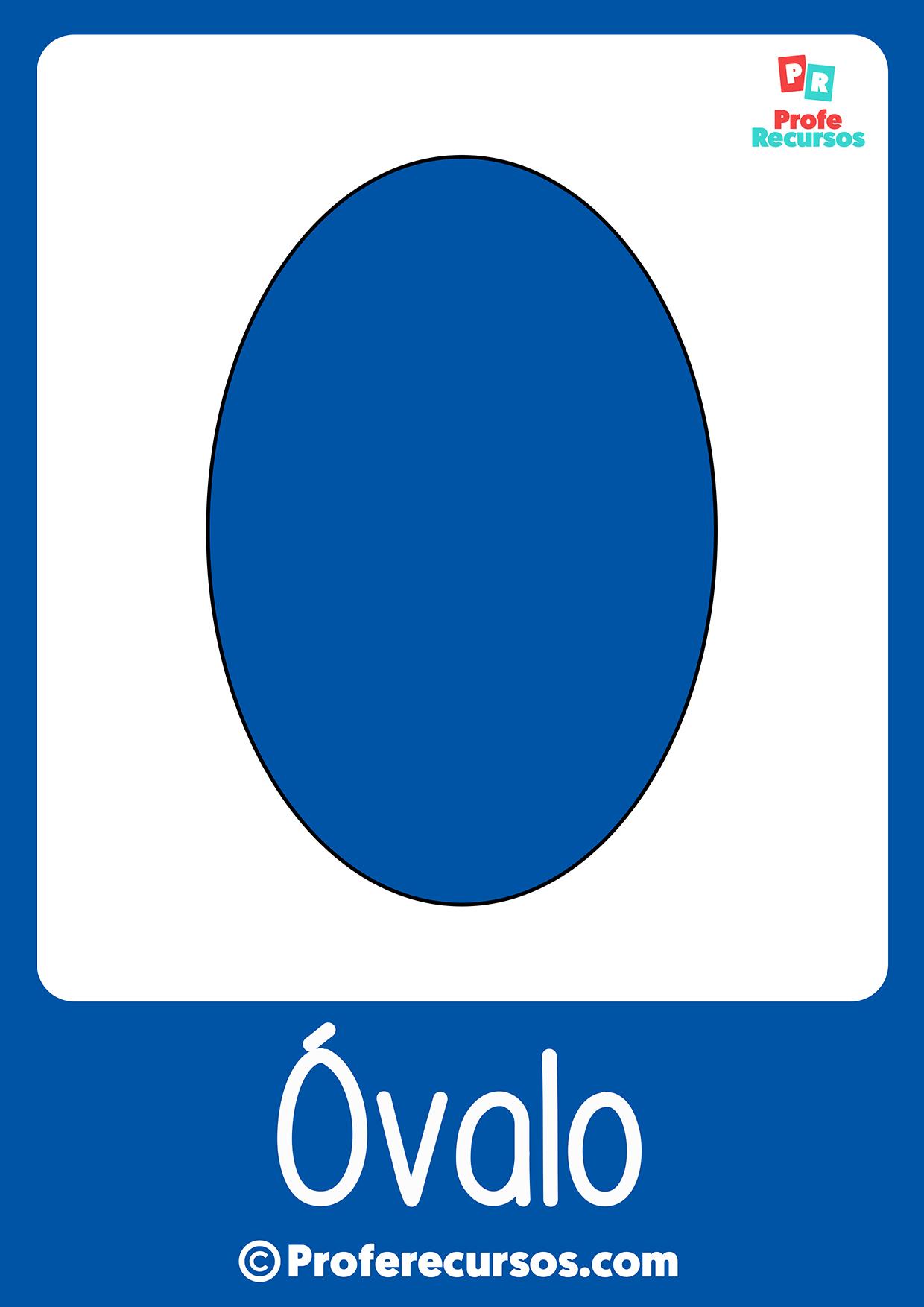 Figura ovalo - Profe Recursos