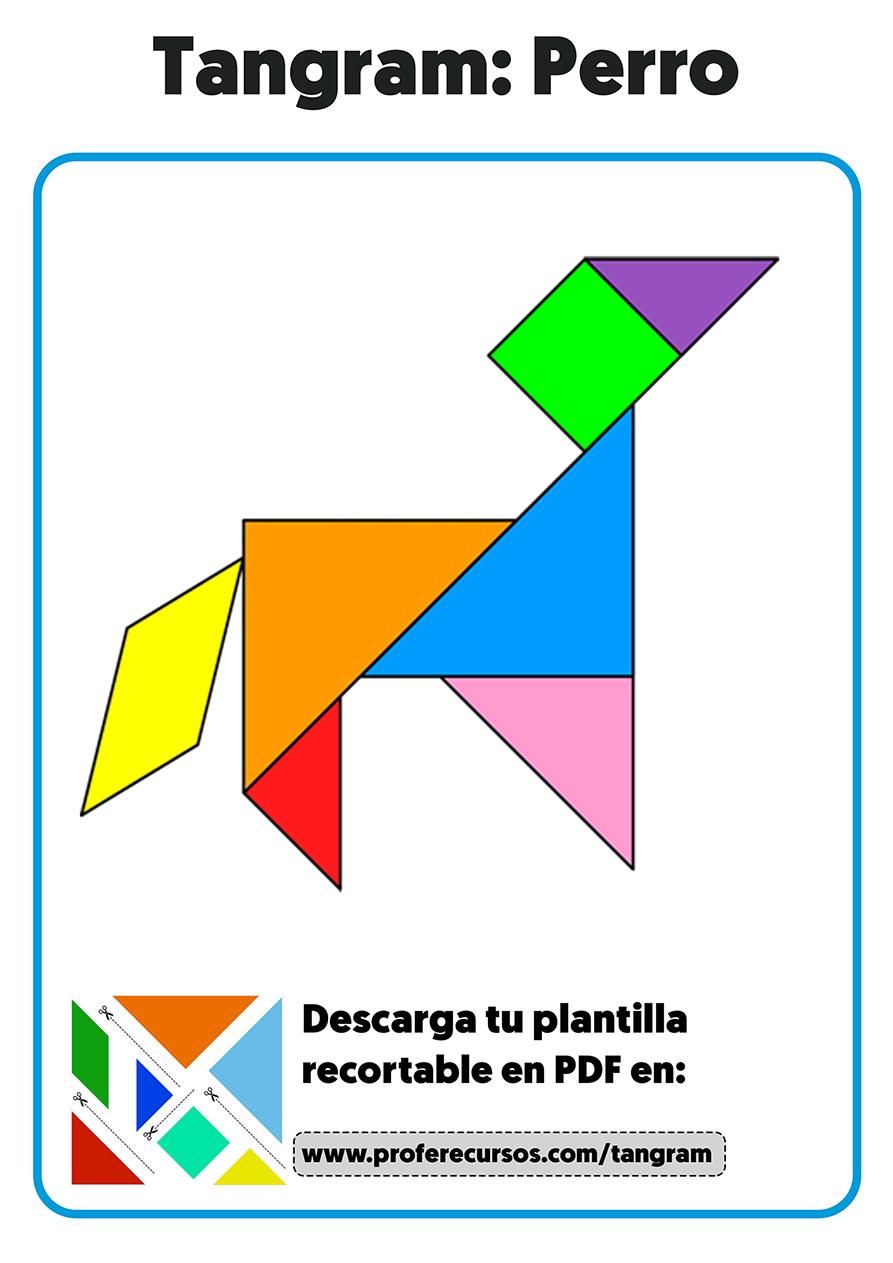 Figuras de animales con el tangram