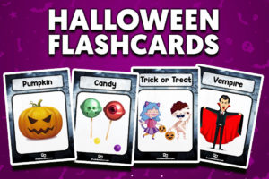 Halloween flashcards vocabulary