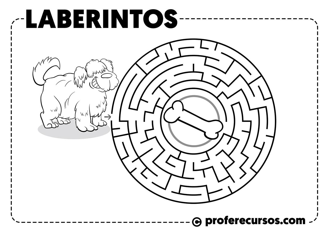 Juego de laberinto para niños