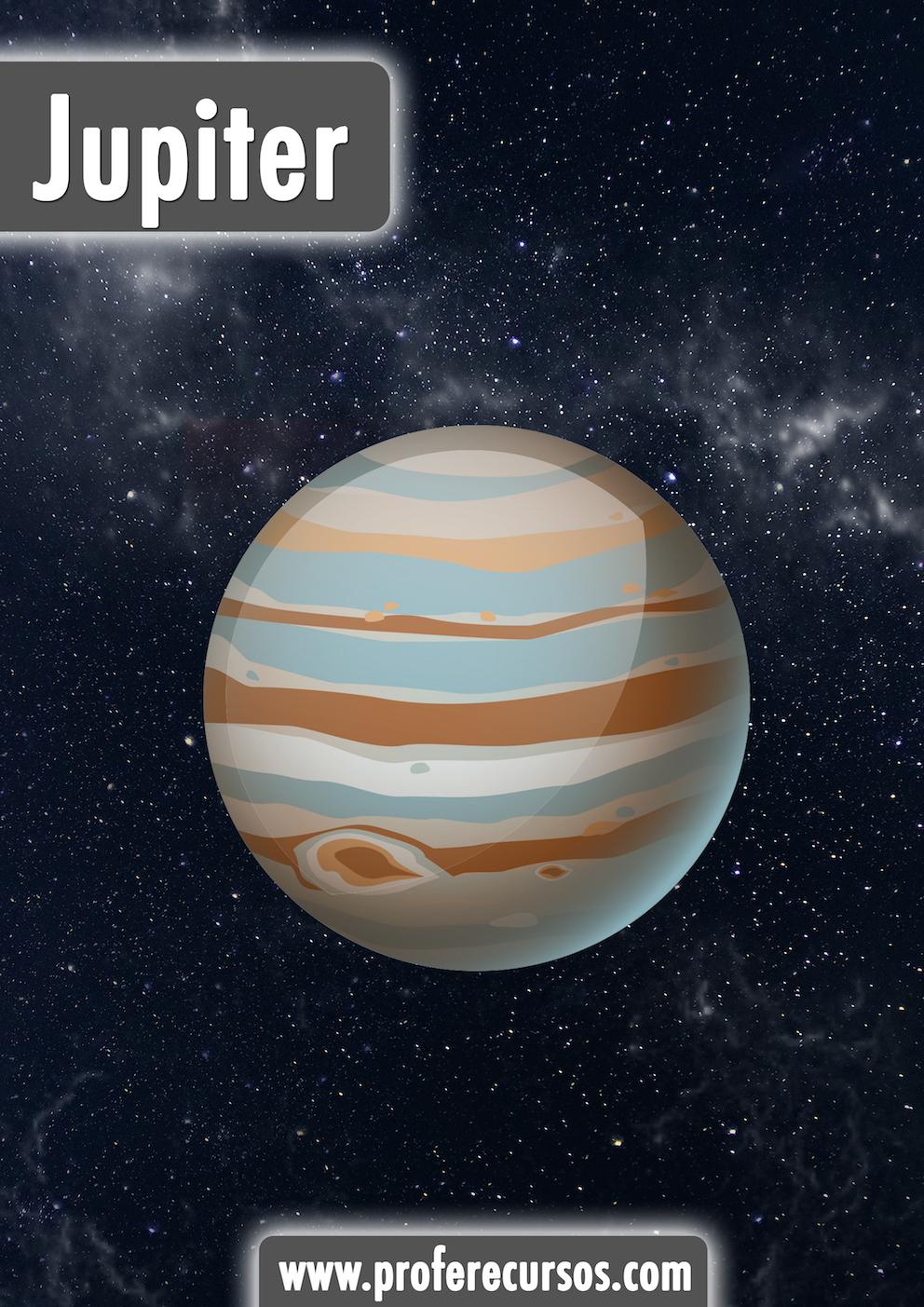 Jupiter Planets Vocabulary