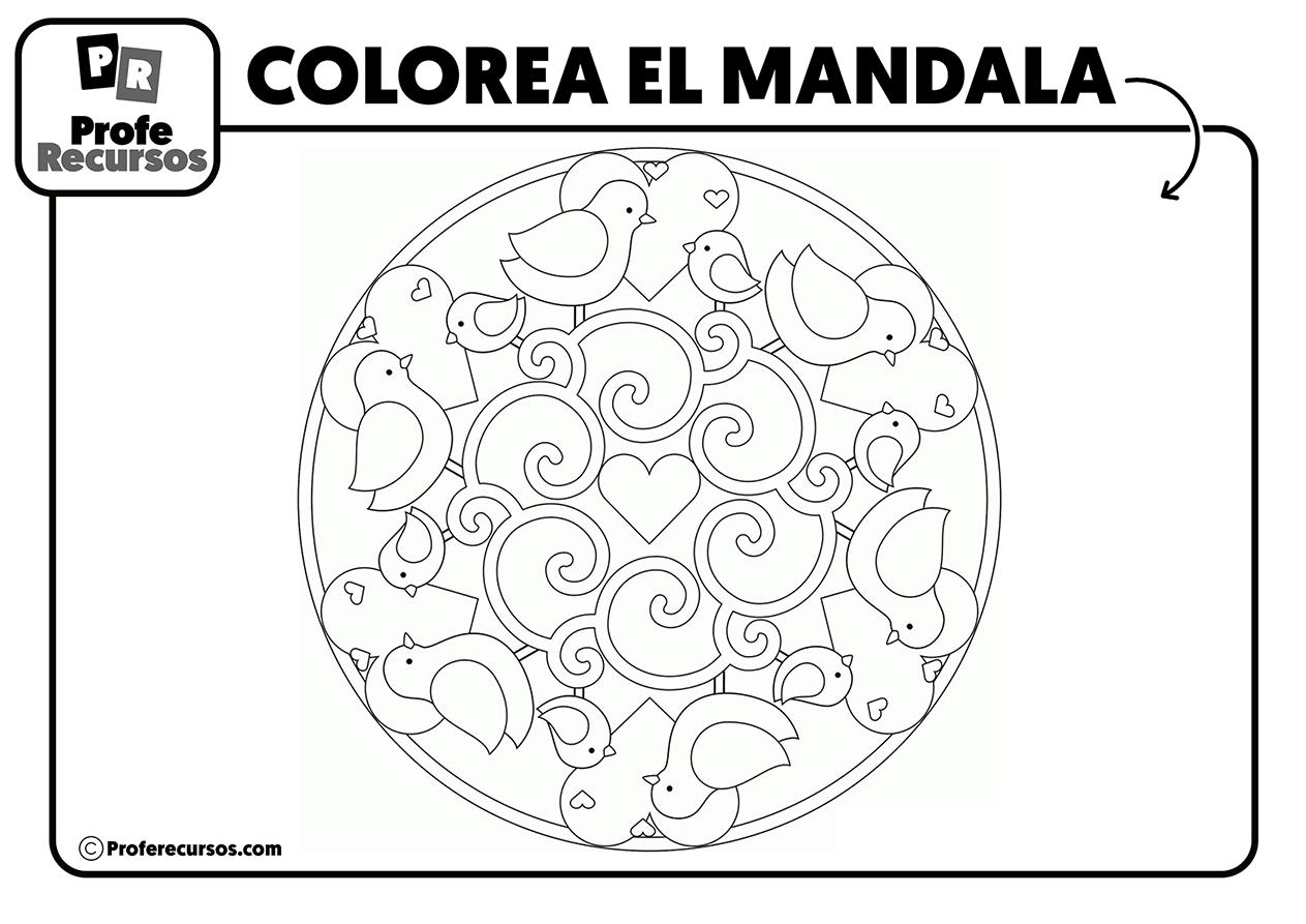 Mandala de animalitos
