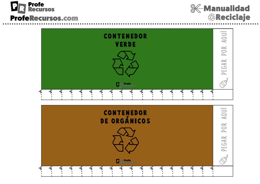 Material educativo reciclaje