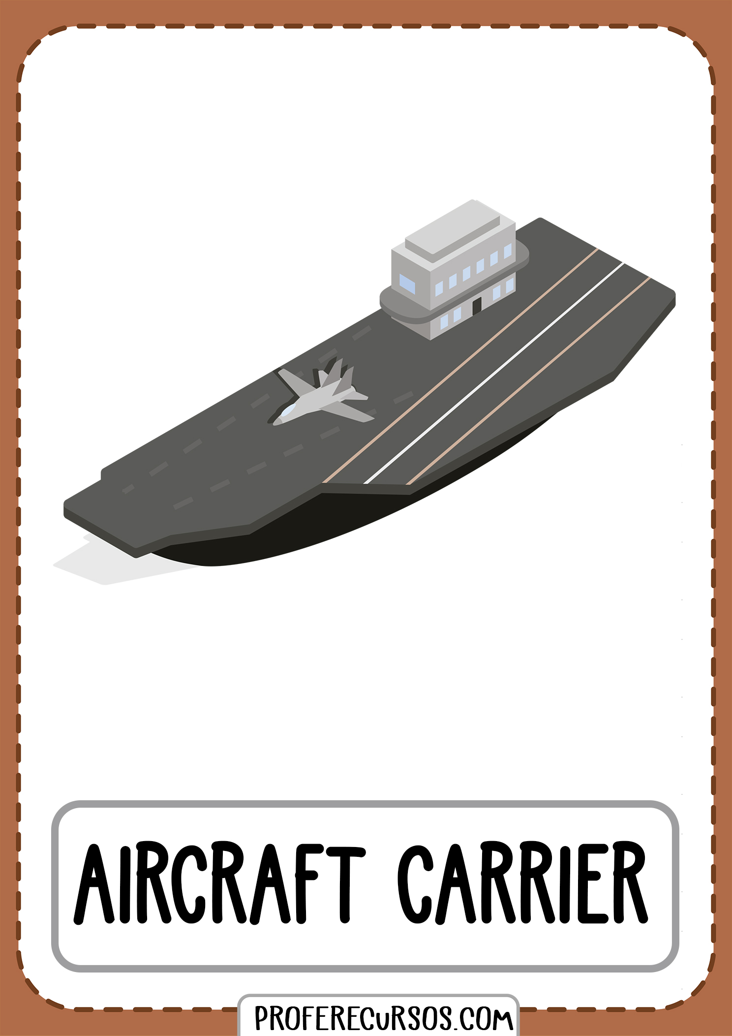 Means-of-transport-vocabulary-aircraft-carrier
