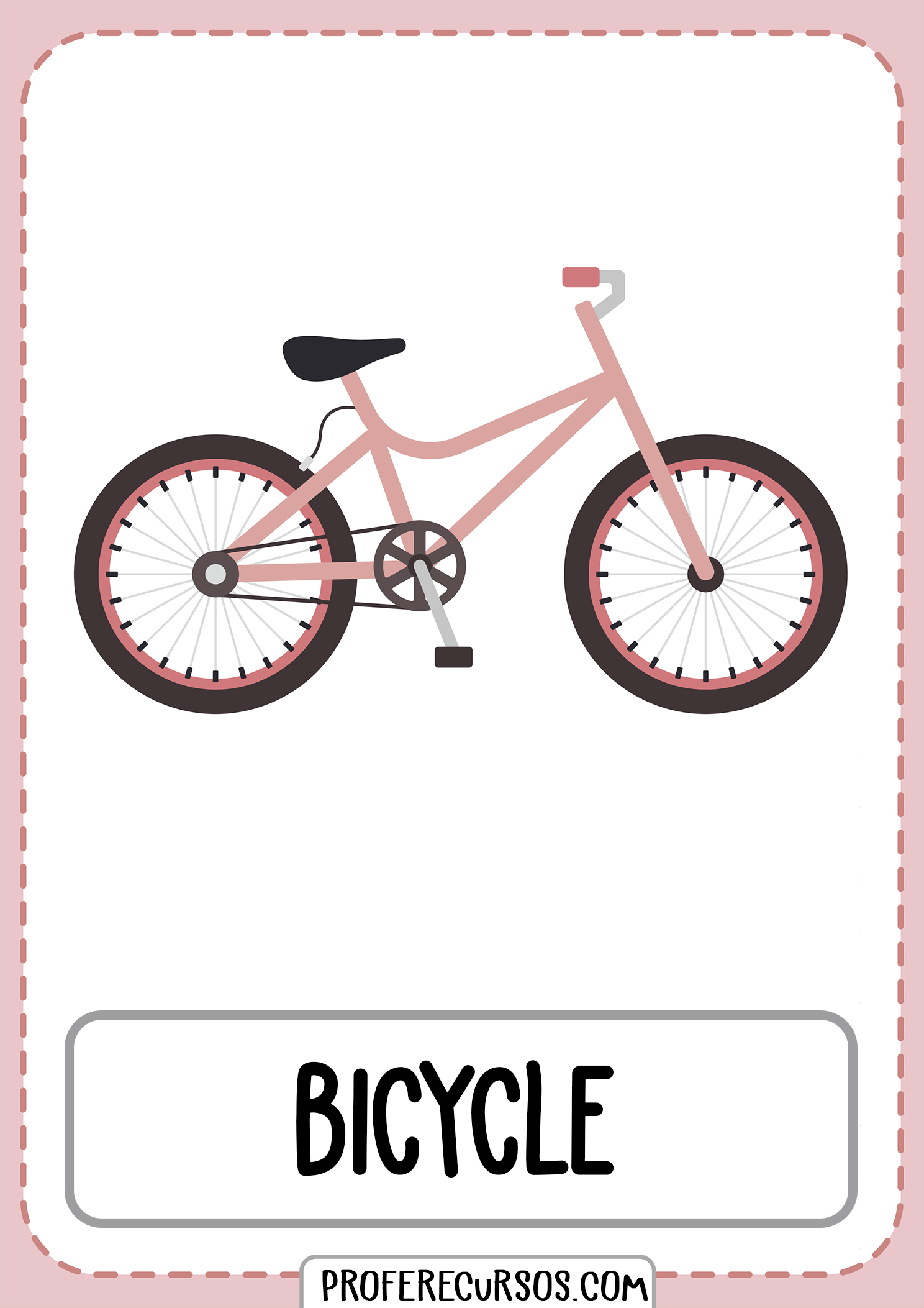 Means-of-transport-vocabulary-bicycle