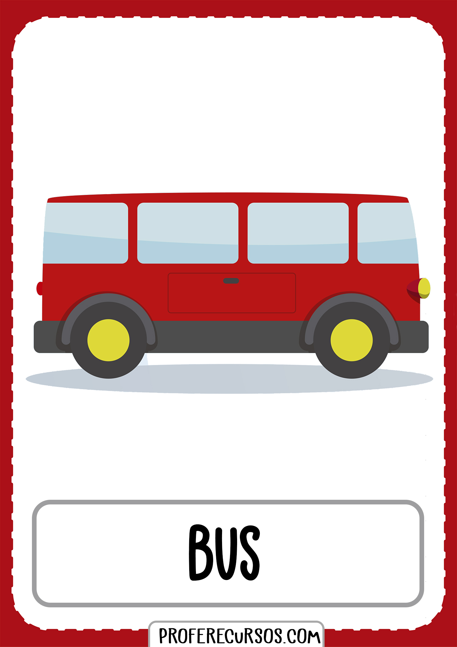 Means-of-transport-vocabulary-bus