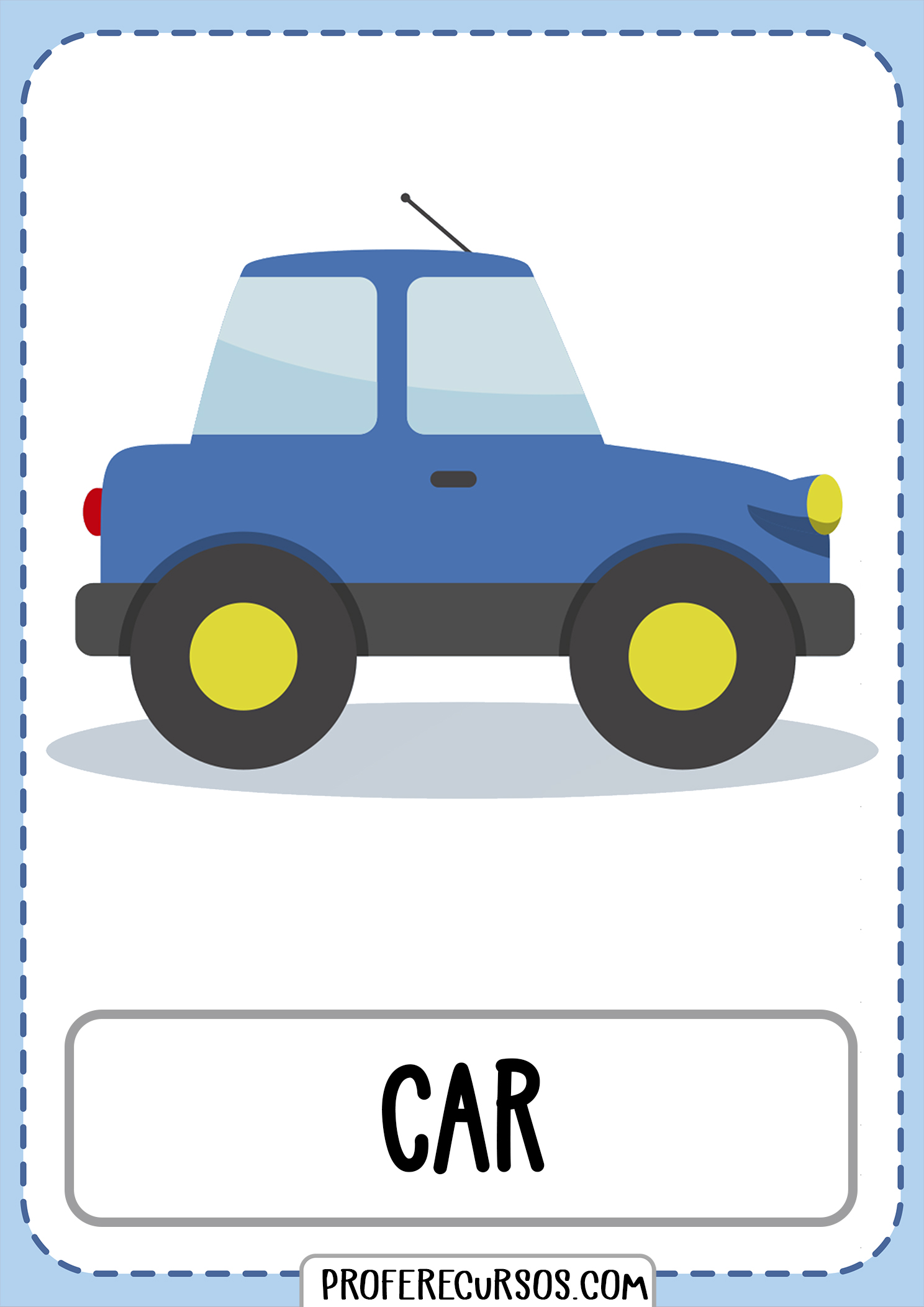 Means-of-transport-vocabulary-car