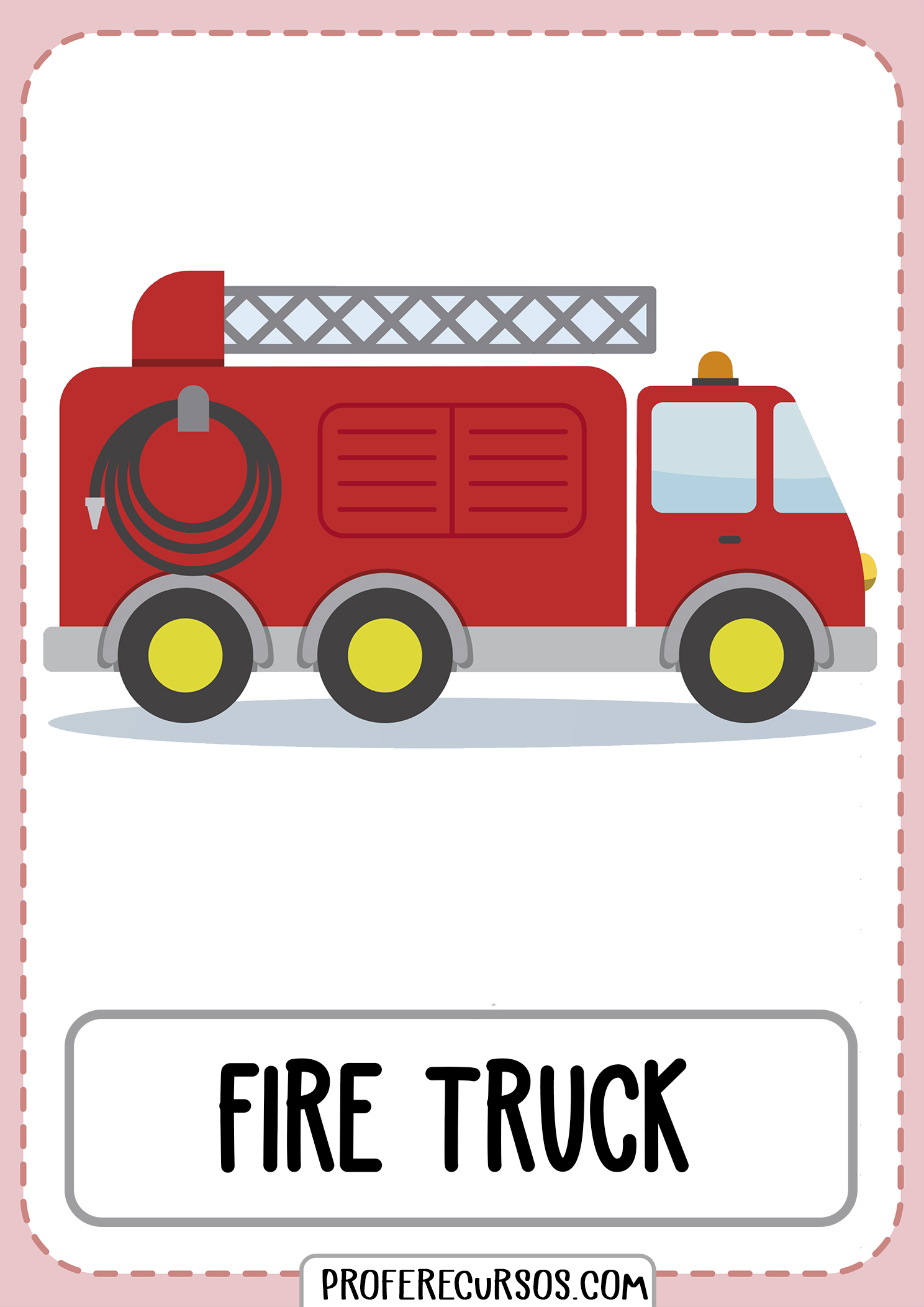 Means-of-transport-vocabulary-fire-truck