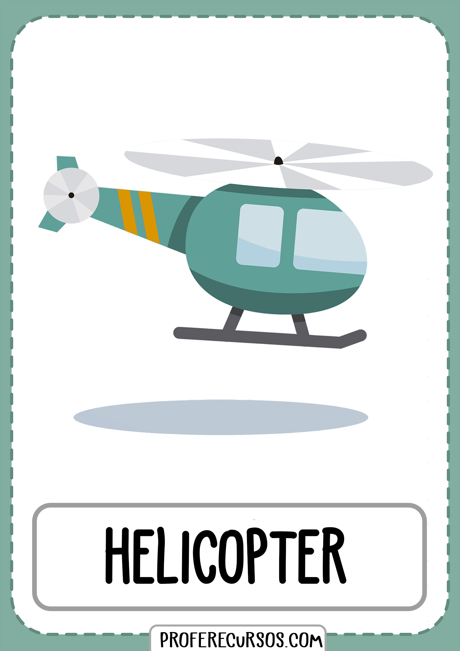 Means-of-transport-vocabulary-helicopter