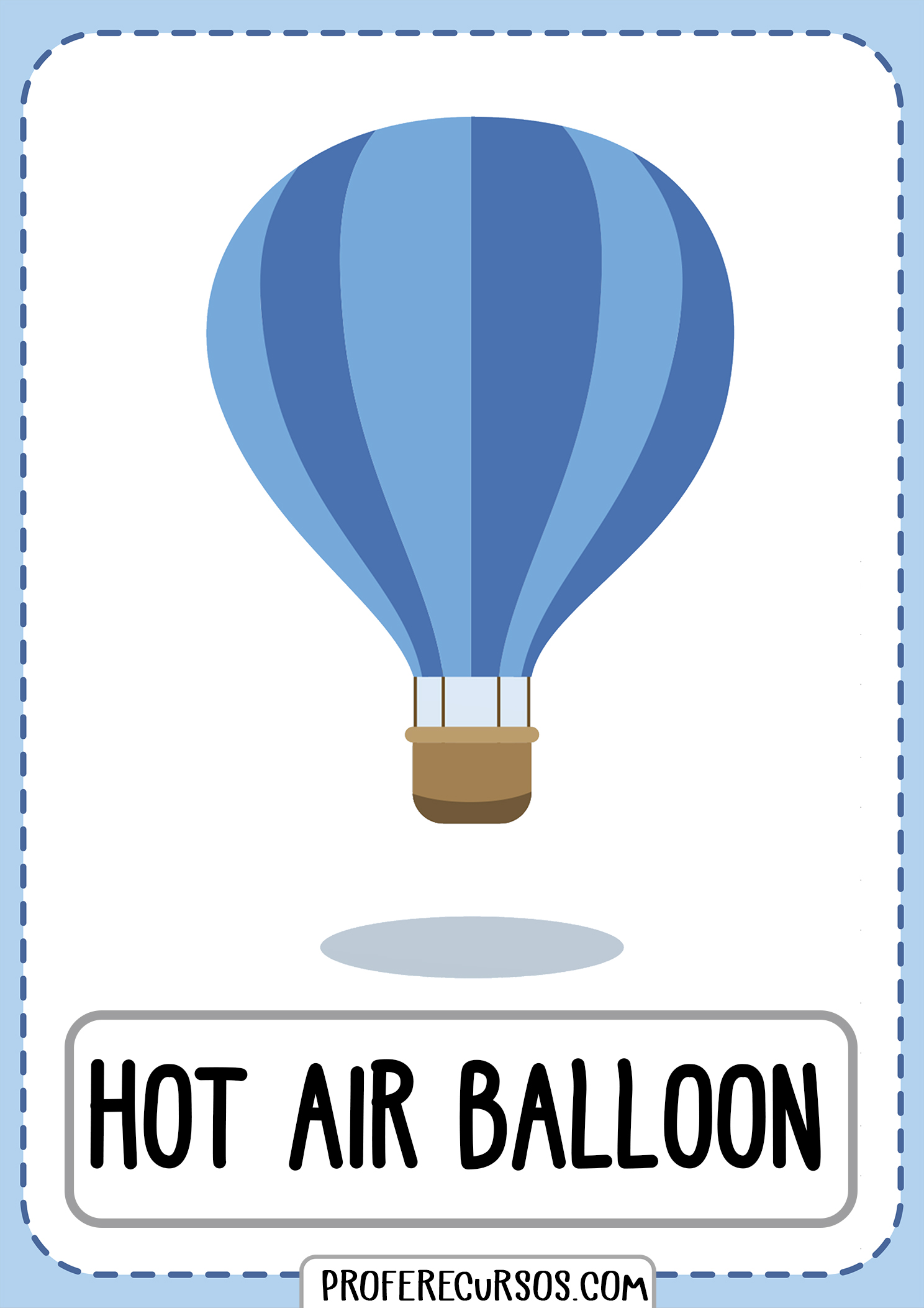 Means-of-transport-vocabulary-hot-air-balloon
