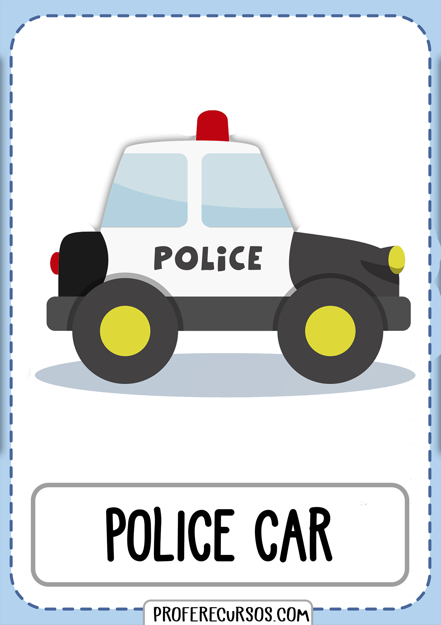 Means-of-transport-vocabulary-police-car