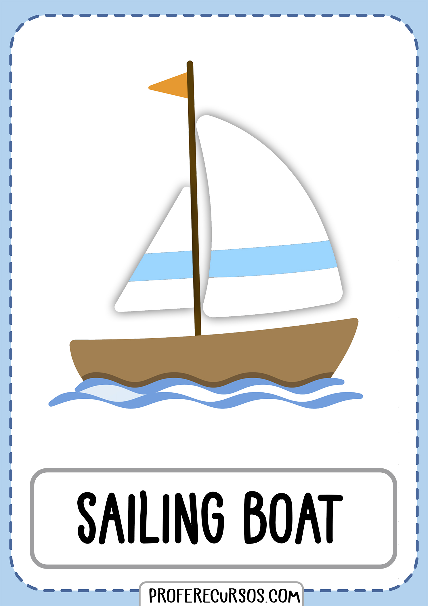 Means-of-transport-vocabulary-sailing-boat
