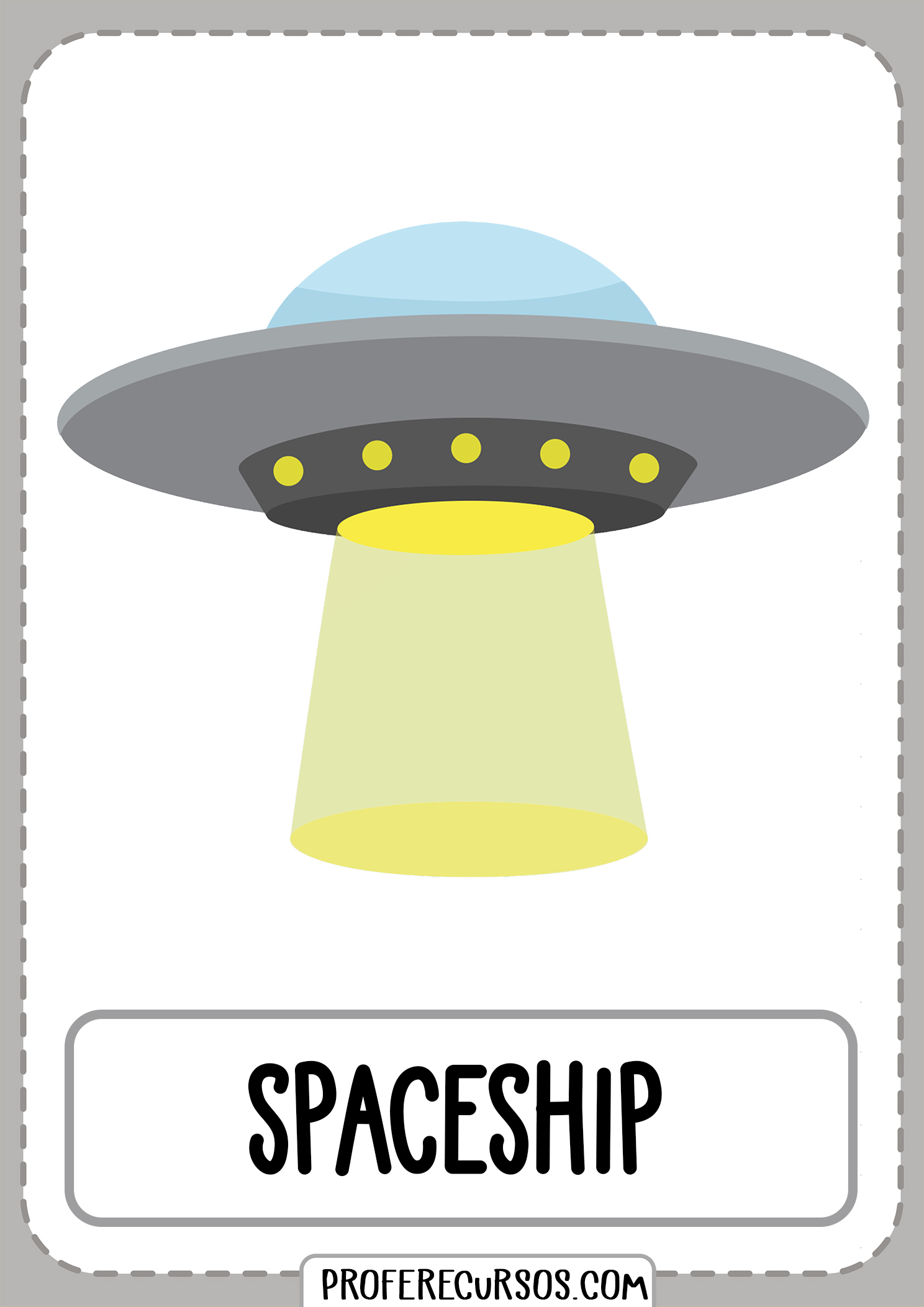 Means-of-transport-vocabulary-spaceship