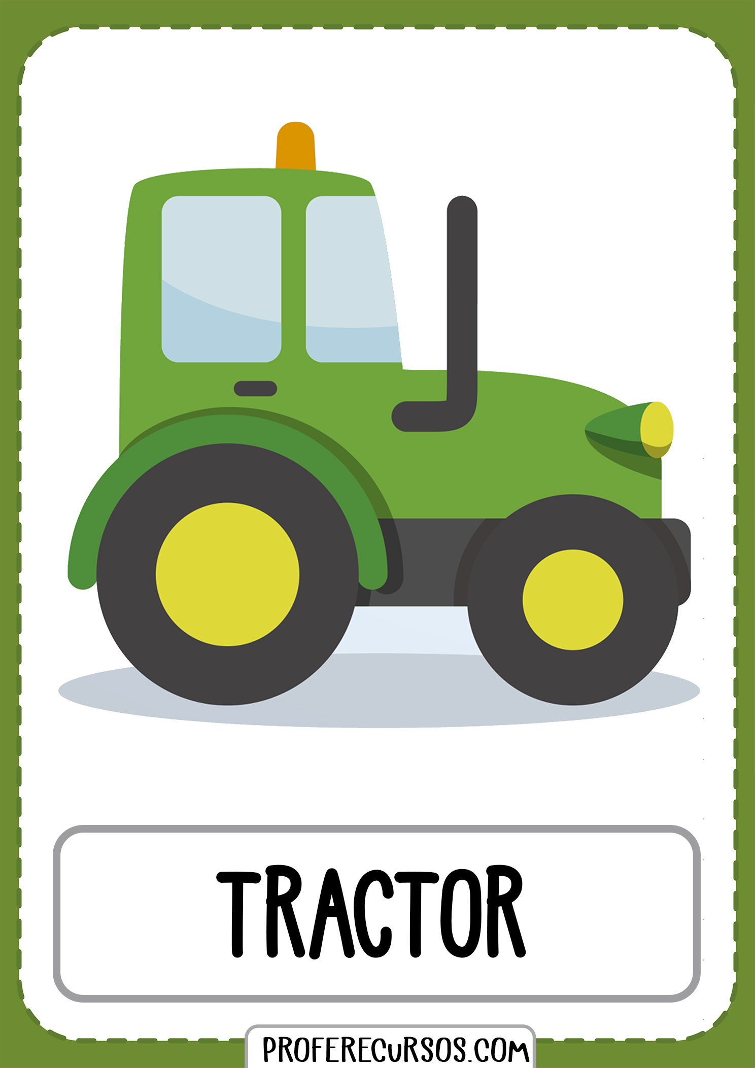 Means-of-transport-vocabulary-tractor