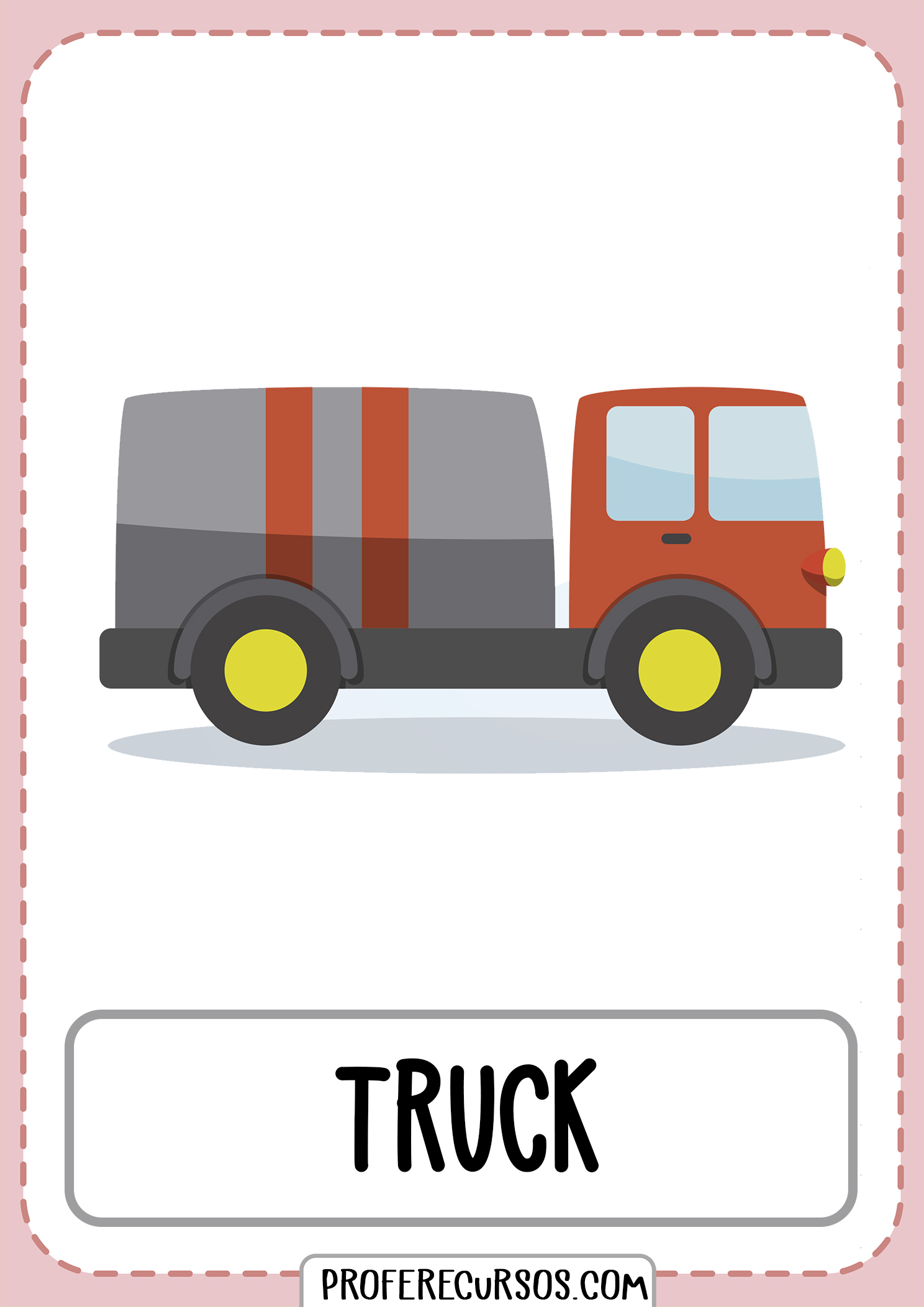 Means-of-transport-vocabulary-truck