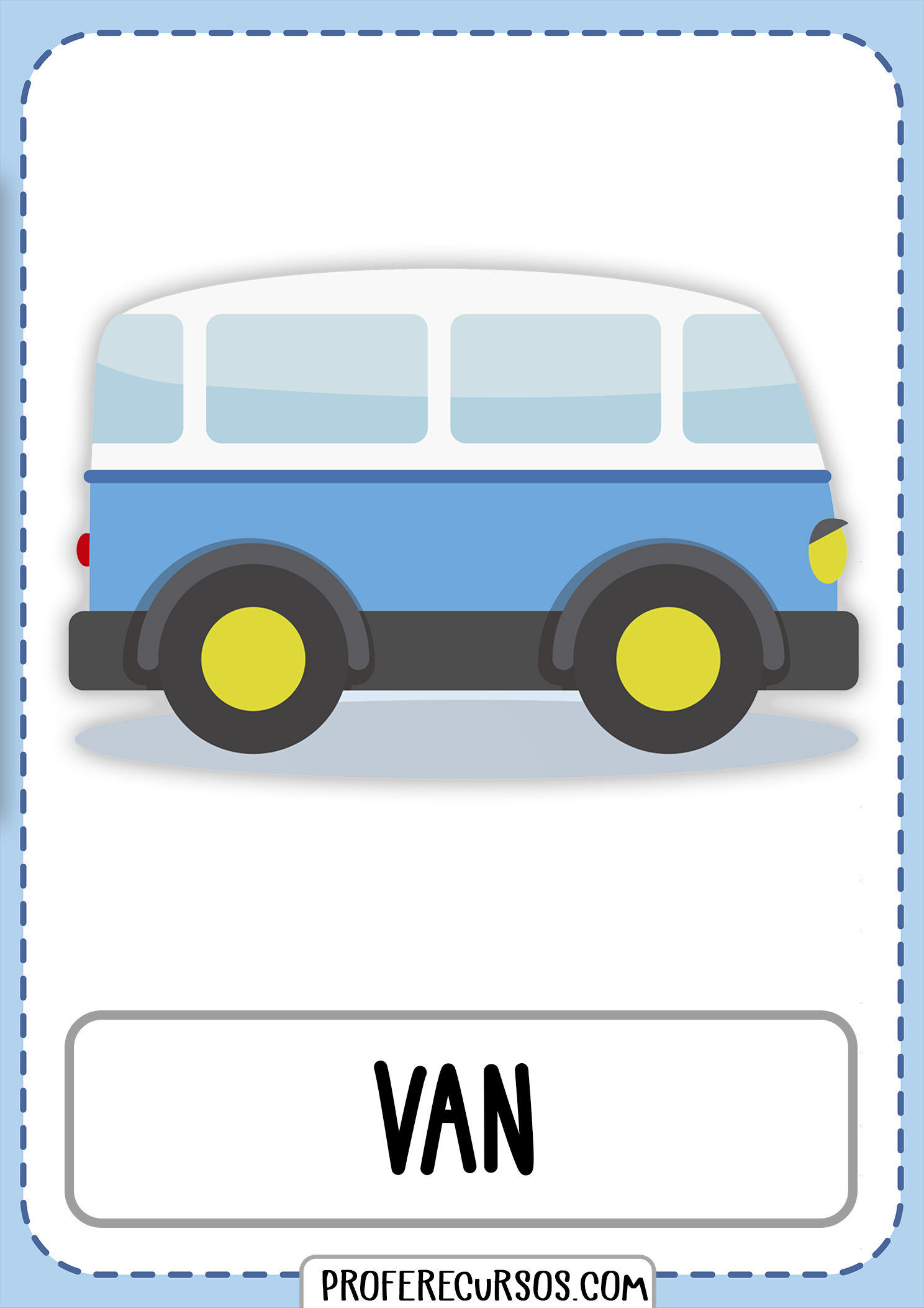 Means-of-transport-vocabulary-van