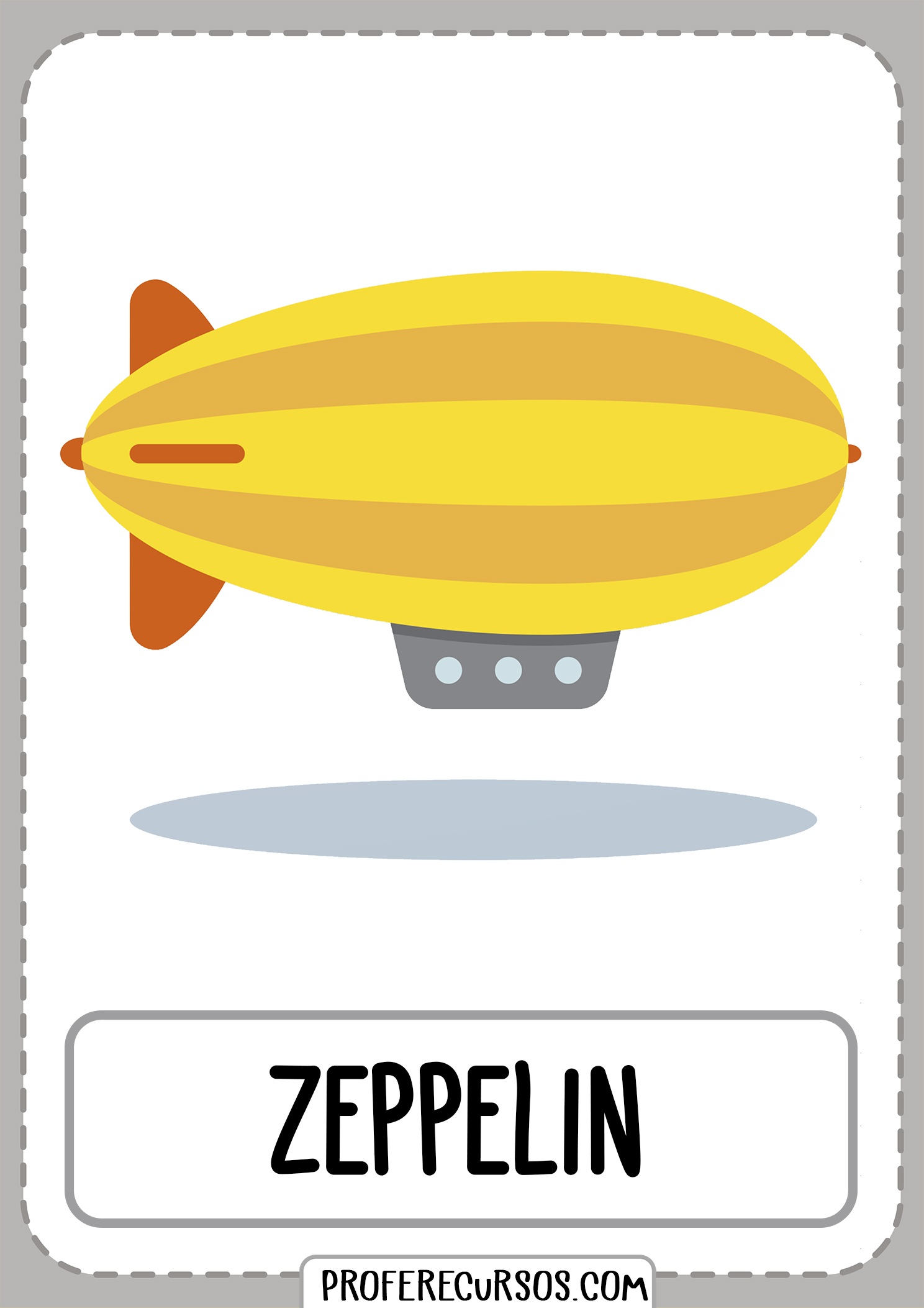 Means-of-transport-vocabulary-zeppelin