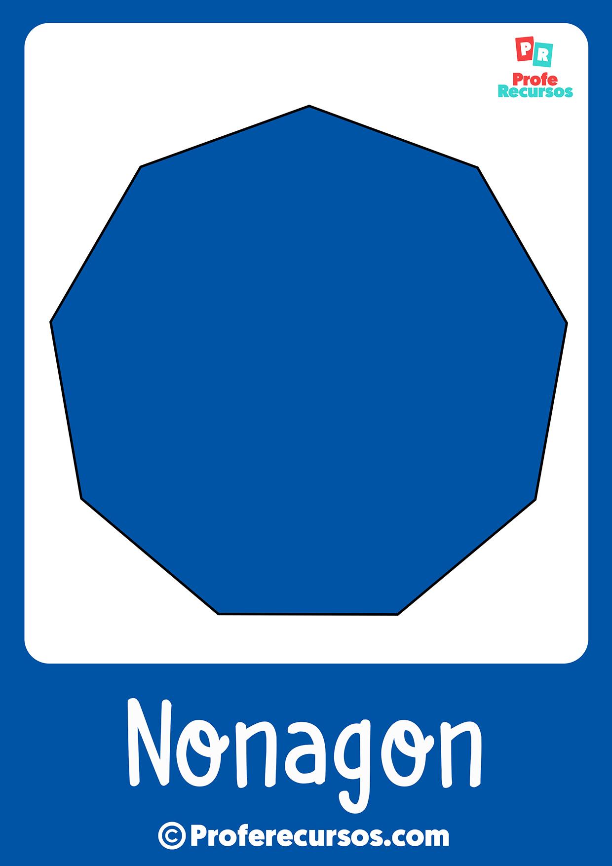 Nonagon shape