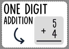 One-Digit-Addition-Worksheets
