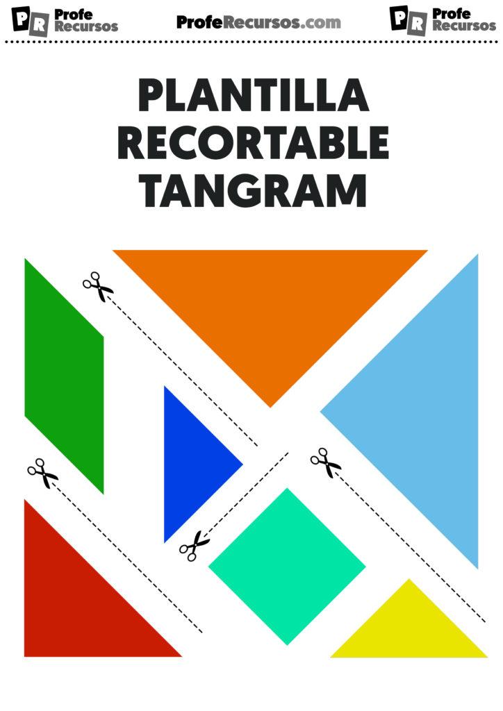Plantilla tangram imprimir recortar