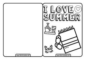 Postales para Niños de Verano