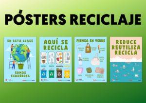 Posters de reciclaje para decorar tu aula
